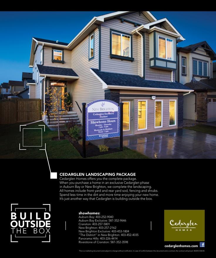 Avenue Magazine Build Outside the Box campaign 2012.