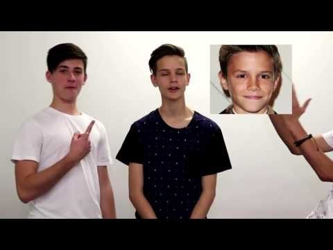 In Stereo - Get to know them - YouTube >> DON'T LIE TO US ETHAN YOU DO SO LOOK LIKE ROMEO BECKHAM ALRIGHT LOOK AT DAT PHOTOGENIC FACE