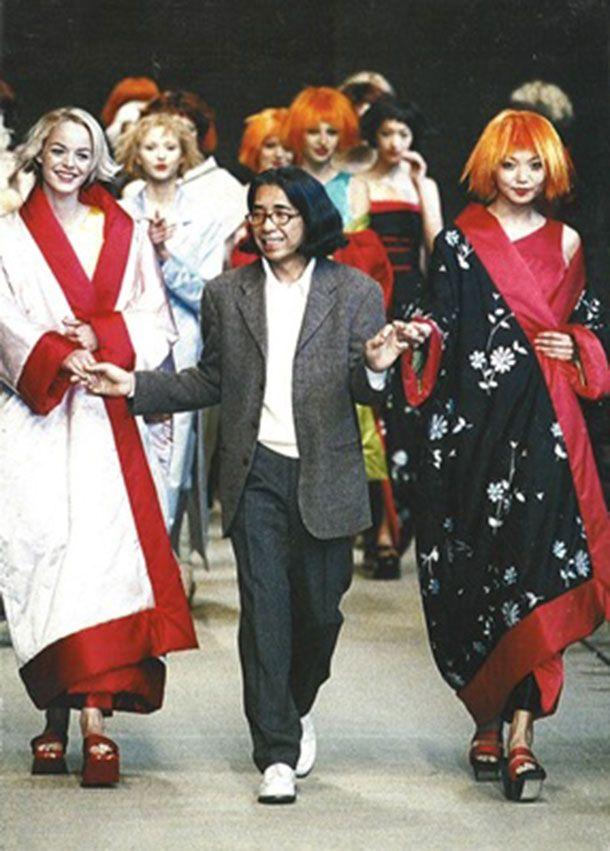 Kenzo Takada & models