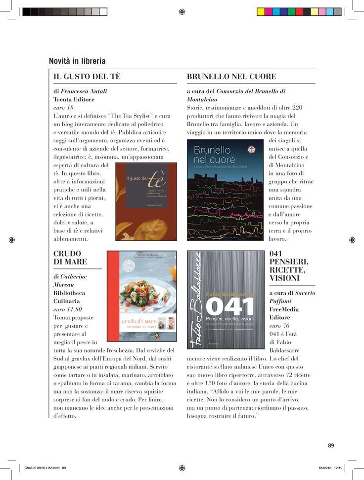 """""""L'autrice si definisce """"The Tea Stylist"""" e cura un blog interamente dedicato al poliedrico e versatile mondo del tè. /.../. In questo libro, oltre a informazioni pratiche e utili nella vita di tutti i giorni, vi è anche una selezione di ricette, dolci e salate, a base di tè e relativi abbinamenti."""" Chef Magazine, maggio 2013 #ilgustodelte"""