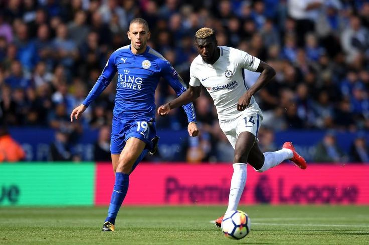 Islam Slimani vs   Tiemoue Bakayoko: Leicester City 1-2 Chelsea, 9 Sep 17