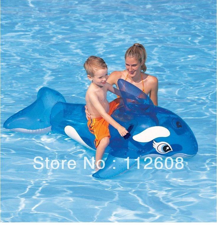 Надувной INTEX 5  косатка симпатичные ездить на бассейн игрушка водяной плавание удовольствие для детей