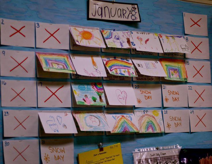 Kindergarten Calendar Interactive : Best ideas about preschool calendar on pinterest