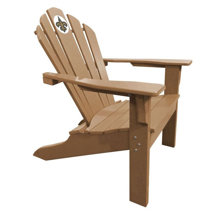 New Orleans Saints Big Daddy Sand Composite Adirondack Deck Chair