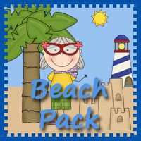 Beach Pack Printables These beach-themed printables are great for kids ages 2-7. There's also a pack for tots!