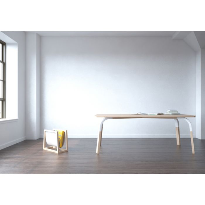 Oak dining table by willion.hu