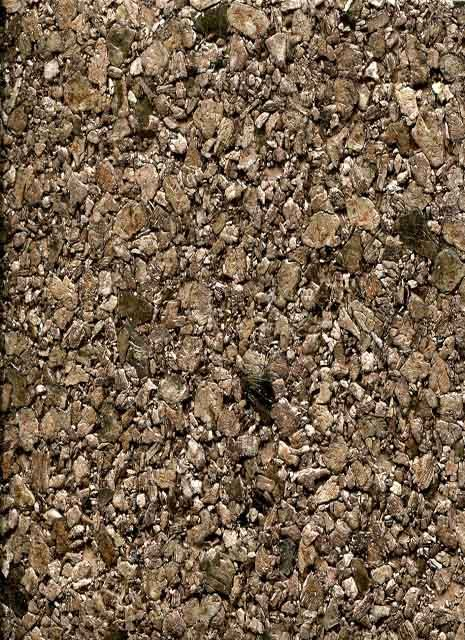 Close up of actual mica wallpaper for tub surround-Omexco Gravel Minerals