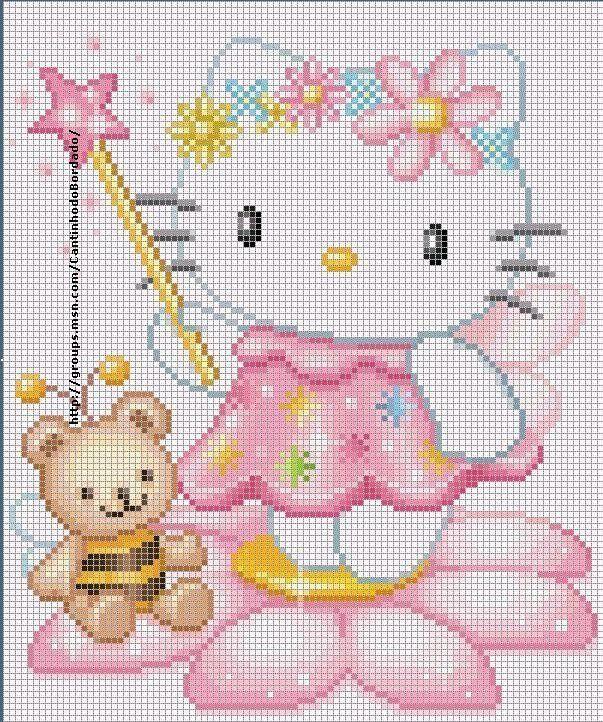 Hello Kitty, en fée
