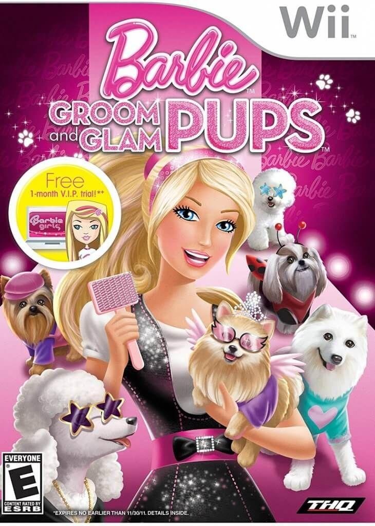 Barbie Groom And Glam Pups Wii Pal Multi Mega Childhood