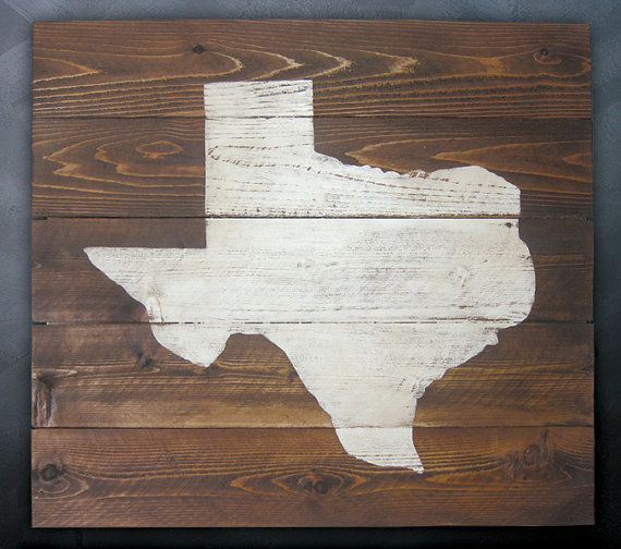 Rustic Texas Whitewash Wall Art 30w X 27h By RusticPost On Etsy, $125.00 Part 96