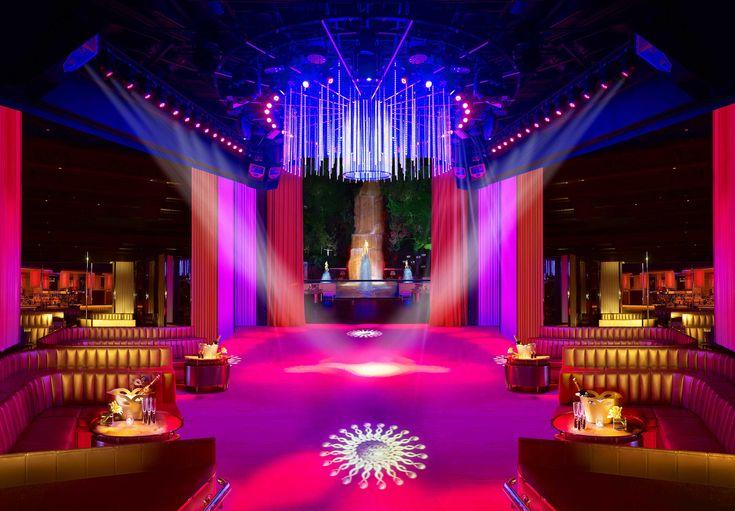 Nightclub Overnight Makeover with Velvet Curtains