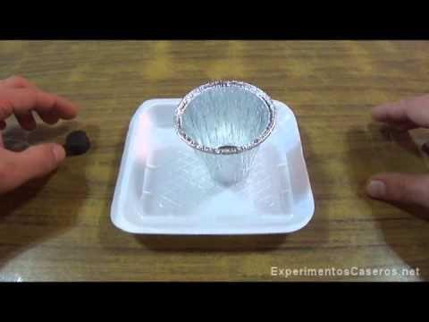 Experimento de Inducción Electromagnética - { Experimentos Caseros }