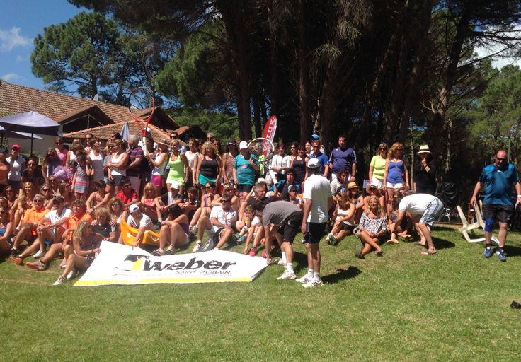 Participantes de la Weber Tennis Cup 2014