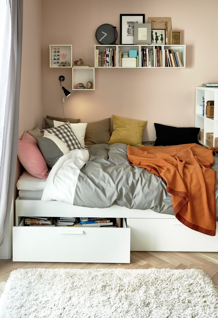Ikea Wickelkommode Leksvik Neupreis ~   IKEA UNDER BED STORAGE on Pinterest  Malm, Ikea and Storage beds
