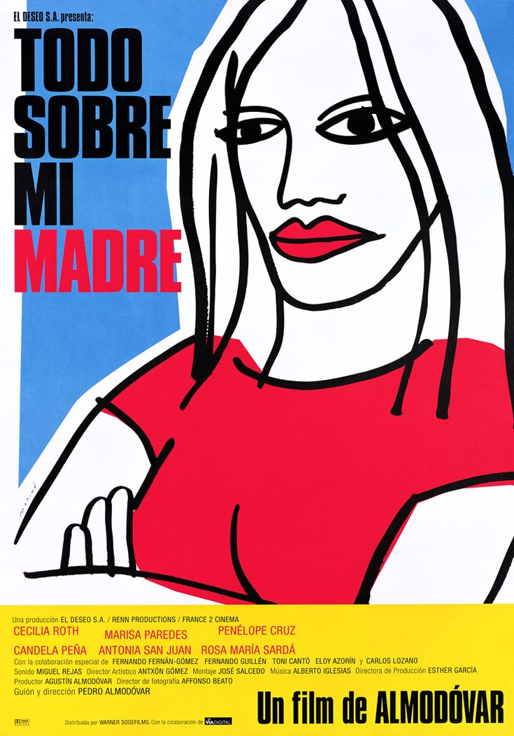 All About My Mother(1999) Pedro Almodóvar