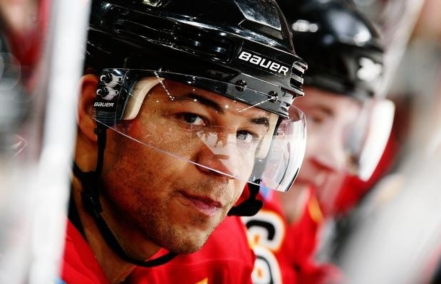 Calgary Flames Hockey!!! And Flames hockey means non other than Captain Jarome Iginla! #12
