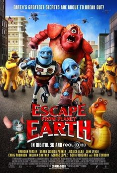 """100 Free Admit-4 Passes to Advance Screening """"Escape From Planet Earth"""" February 9 (Webster)"""