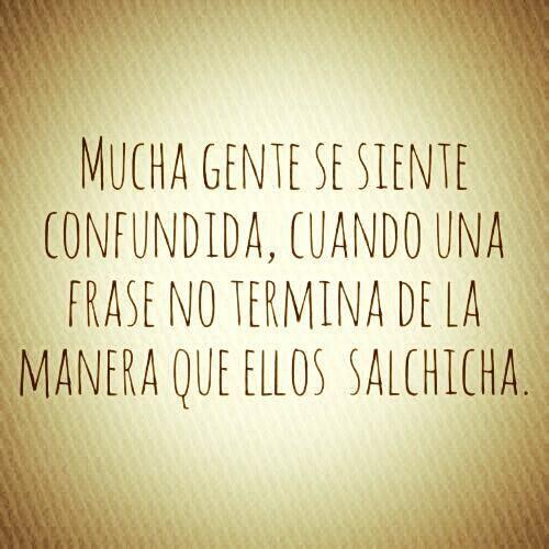 Salchicha.