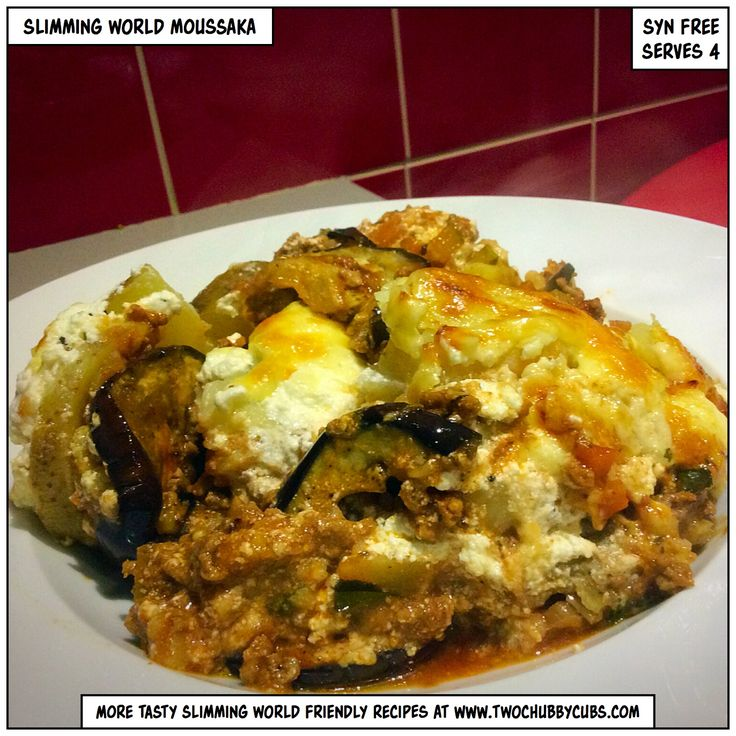 Slimming World moussaka from the world of www.twochubbycubs.com - where we post a new Slimming World recipe every day! Over 200 free recipes, all with nice photographs, plus we'll hopefully make you laugh along the way with nonsense from two gay blokes just trying to lose weight.