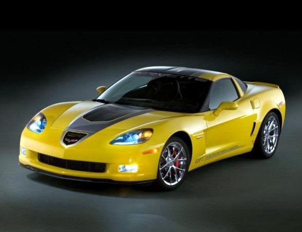 2009 Corvette GT1 Championship Z06 Diecast Scale Model by Franklin Mint