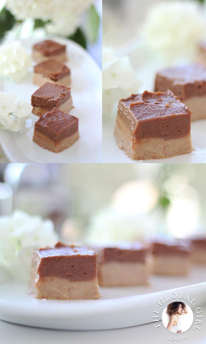 Raw Vegan Chocolate Caramel Durian Fudge Brownies. To celebrate the return of the King of Fruits in Bali!!!