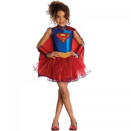 Supergirl kostuum meisje