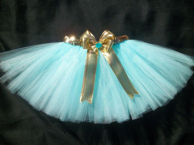 Princess Jasmine tutu, Aladdin inspired tutu custom made sizes Newborn-4t. $26.00, via Etsy.