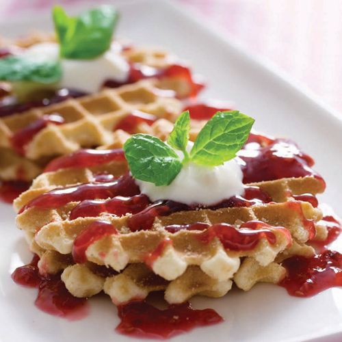 Kolay Waffle Tarifi