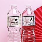 Starfish Personalized Water Bottle Label - 12 pcs - Personalized Water Bottle Labels - Stationery - Wedding Favors & Party Supplies - Favors and Flowers