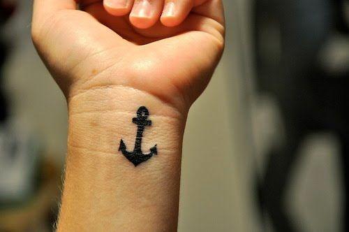 anchor: Tattoo Ideas, Wristtattoo, Nautical Tattoo, Sinks, Tattoo Design, A Tattoo, Small Anchors Tattoo, Anchors Wrist Tattoo, Small Wrist Tattoo