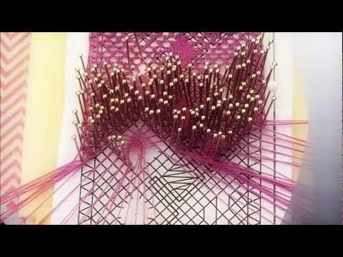 ▶ Arañas de encaje de bolillos - YouTube