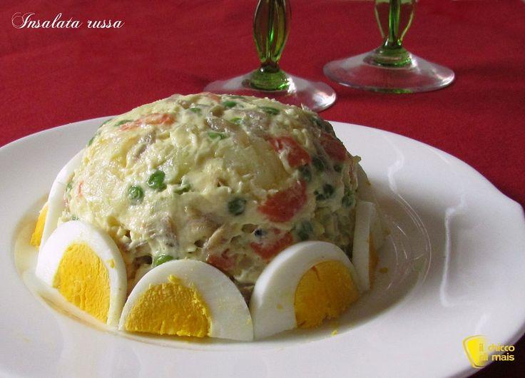 Insalata russa ricetta antipasto il chicco di mais