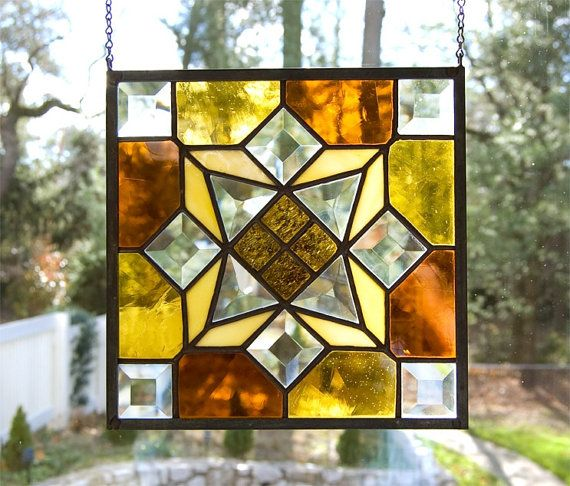 Brand-new Geometric Stain Glass &DH11