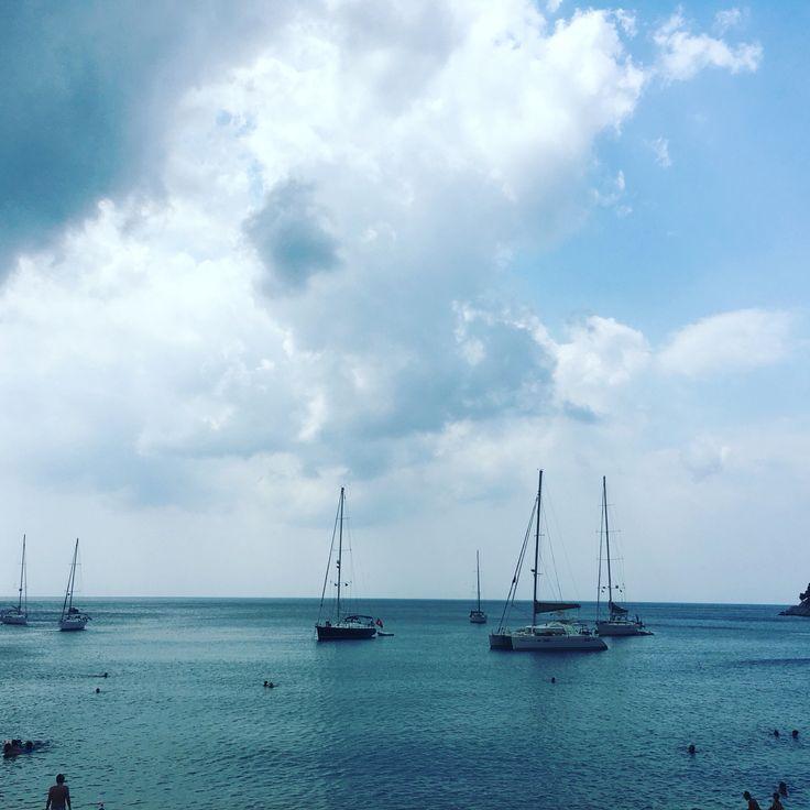 Limnonari beach at Skopelos island at Greece #lovegreece #skopelos