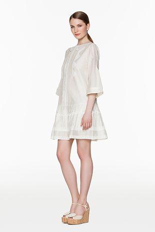 TWIN-SET Simona Barbieri :: SS15 :: Dresses :: Lace Collar Dress :: T2S5SA