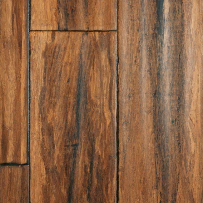 "9/16"" x 5-1/8"" Antique Strand Handscraped Bamboo - Morning Star | Lumber Liquidators #5thWaLL"