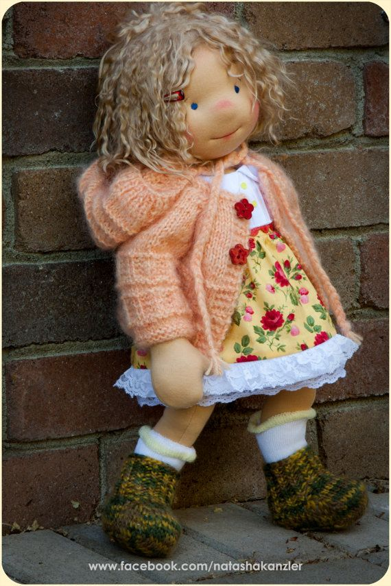Traditional Christmas Special. :-) 18 inch Waldorf doll.