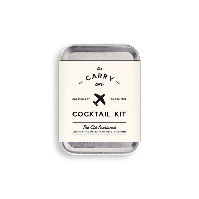 I can make my own cocktails on flights! Mini Cocktail Kit