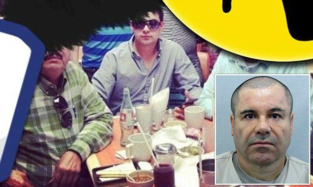 El Chapo's son forgets to switch off location data in Twitter  picture Is El Chapo hiding in Costa Rica? Net closes on the world's most wanted drug lord after his son forgets to switch off location data in Twitter picture Jesus Alfredo Guzman Salazar shared photo taken in a restaurant on Twitter Image appeared to show him eating alongside his drug lord father, El Chapo  But the cocksure 29-year-old forgot to switch off phone's location tagging  His photograph suggested the image was taken in…