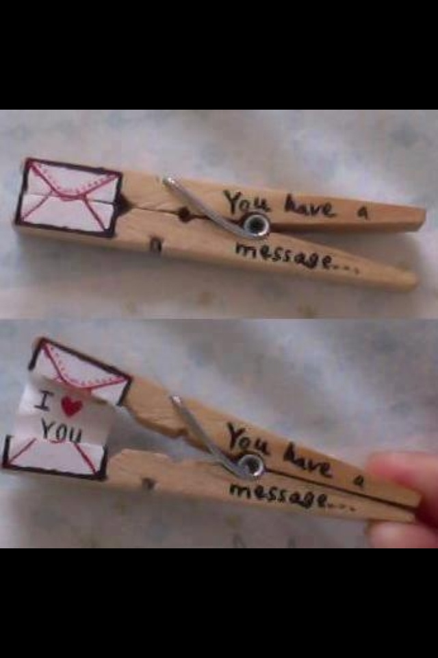 """Just a cleaver way to say """"I love You"""""""