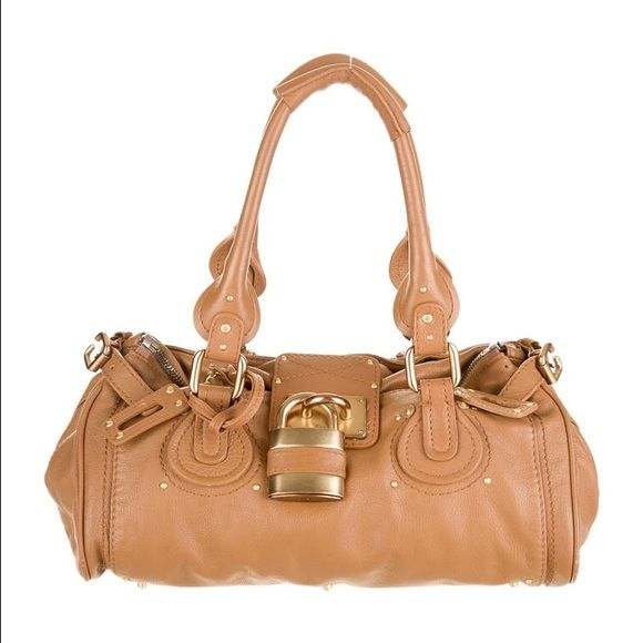 Chloe Paddington Bag, Tan
