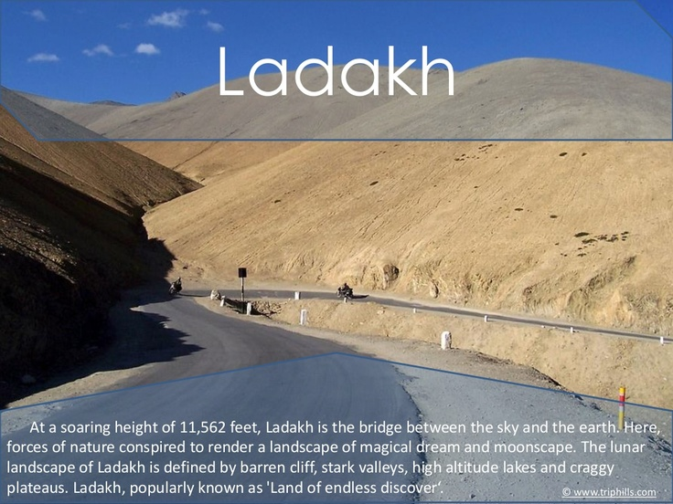 tourist-guide-to-ladakh by Kashmir Tourism via Slideshare