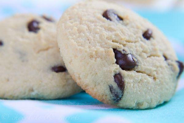 Coconut Flour Chocolate Chip Cookies-4365
