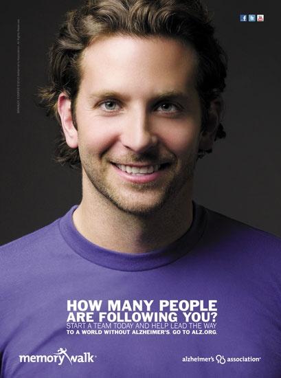 Bradley Cooper for the Alzheimer's Association