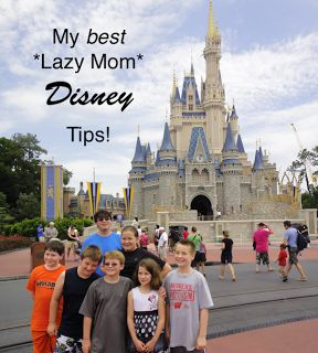 My BEST Lazy Mom Disney Tips! | I'm A Lazy Mom