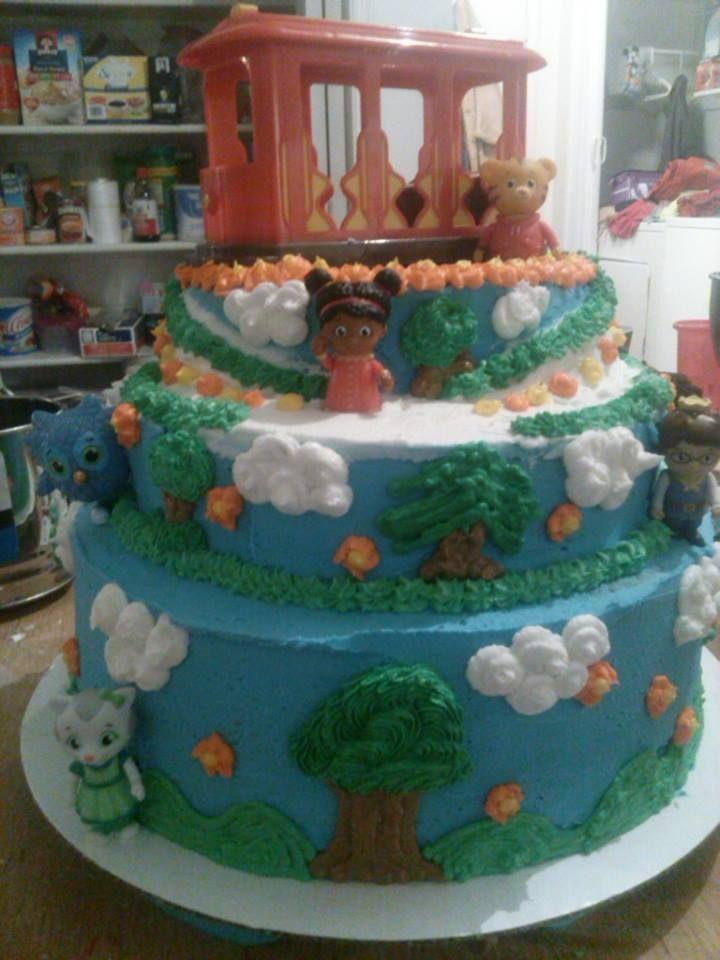 Daniel Tiger Birthday Sheet Cake
