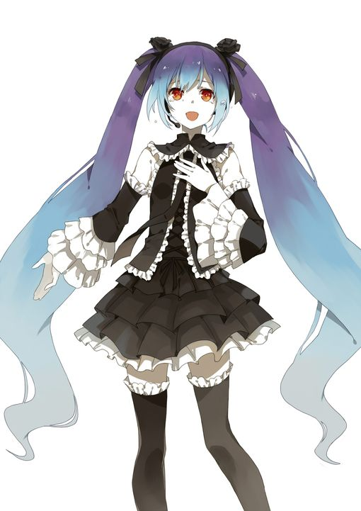 Thinking about doing this version of hatsune miku for cosplay