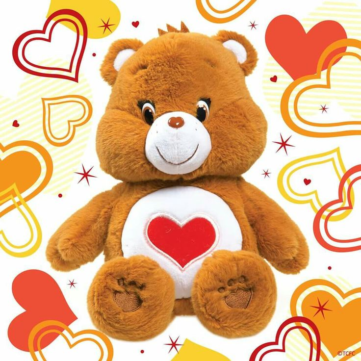 Tender heart bear (With images) Bear toy, Care bears
