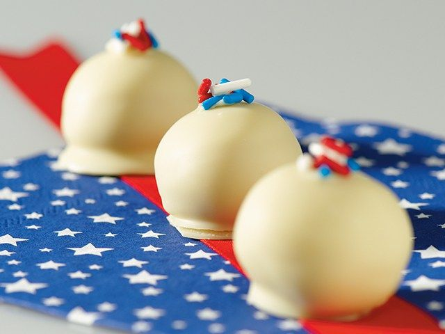 The Fourth of July is just around the corner and these American Spirit Oreo Cookie Balls are the perfect independence dessert.