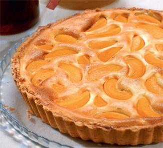 Творожный пирог с персиками!!!